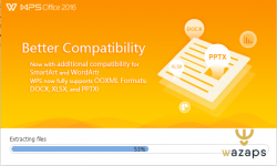 WPS Office: برنامج مكتبي لتحرير النصوص