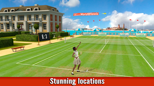 World of Tennis: Roaring '20s — online sports game - صورة للبرنامج  #4