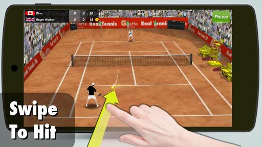 Tennis Champion 3D - Online Sports Game - صورة للبرنامج #1
