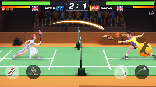 Badminton Blitz - Free PVP Online Sports Game - صورة للبرنامج #3