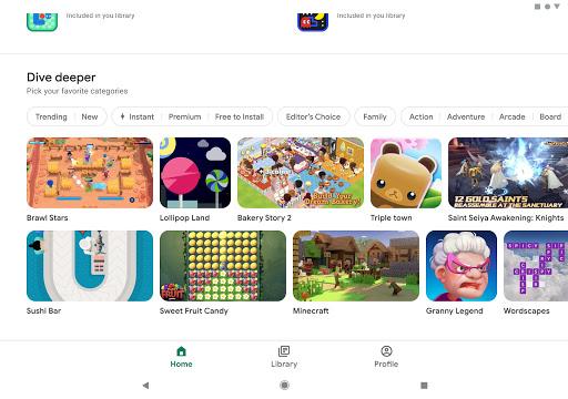 Google Play - صورة للبرنامج #10