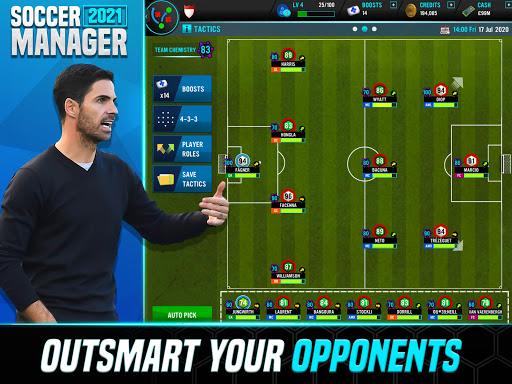 Soccer Manager 2021 - Football Management Game - صورة للبرنامج #10