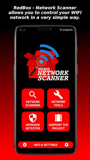 RedBox - Network Scanner - صورة للبرنامج #1