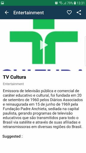 Brasil TV ao vivo no celular - صورة للبرنامج  #6