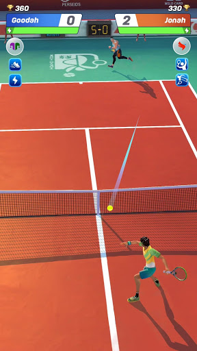 Tennis Clash: رياضات 3D - مجانية متعددة اللاعبين - صورة للبرنامج #7