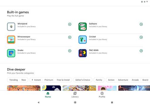 Google Play - صورة للبرنامج #8