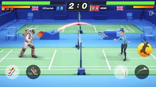 Badminton Blitz - Free PVP Online Sports Game - صورة للبرنامج #2