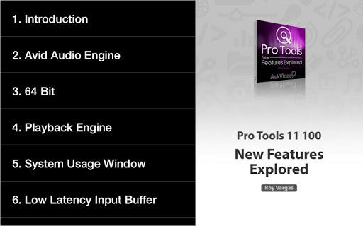 AV For Pro Tools 11 Features - صورة للبرنامج  #6
