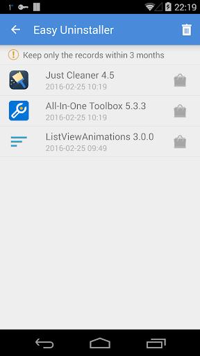 Easy Uninstaller App Uninstall - صورة للبرنامج #3