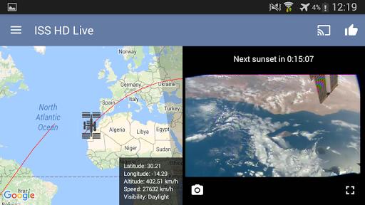 ISS HD Live: مشاهدة الأرض مباشرةً - صورة للبرنامج  #20