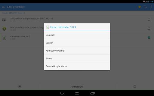 Easy Uninstaller App Uninstall - صورة للبرنامج #12