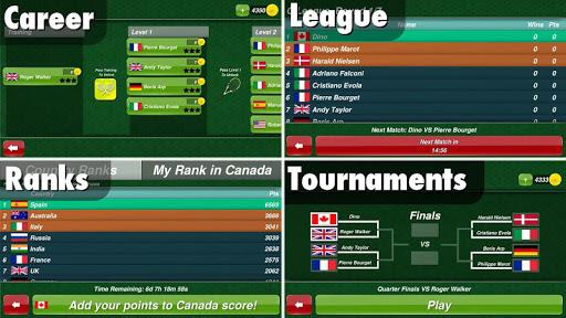 Tennis Champion 3D - Online Sports Game - صورة للبرنامج #3