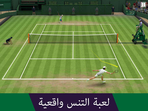 Tennis World Open 2021: Ultimate 3D Sports Games - صورة للبرنامج #1