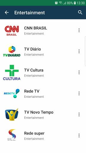 Brasil TV ao vivo no celular - صورة للبرنامج  #3