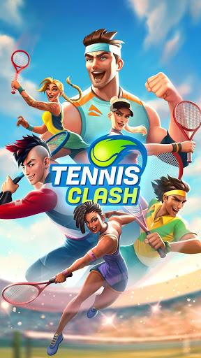Tennis Clash: رياضات 3D - مجانية متعددة اللاعبين - صورة للبرنامج #5