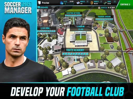 Soccer Manager 2021 - Football Management Game - صورة للبرنامج #13