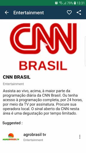 Brasil TV ao vivo no celular - صورة للبرنامج  #5
