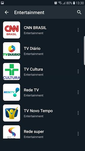 Brasil TV ao vivo no celular - صورة للبرنامج  #8