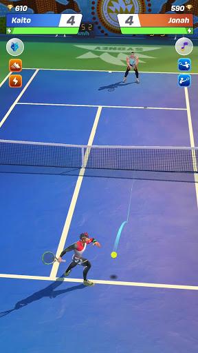 Tennis Clash: رياضات 3D - مجانية متعددة اللاعبين - صورة للبرنامج #1