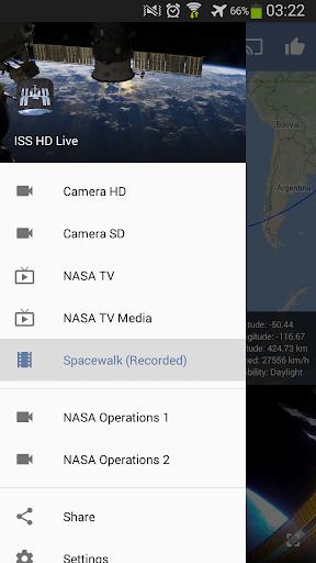 ISS HD Live: مشاهدة الأرض مباشرةً - صورة للبرنامج  #3