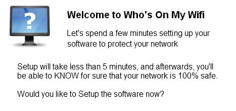 Who Is On My Wifi - صورة للبرنامج #1