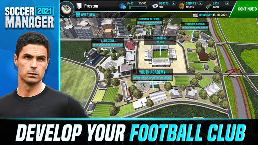 Soccer Manager 2021 - Football Management Game - صورة للبرنامج #3
