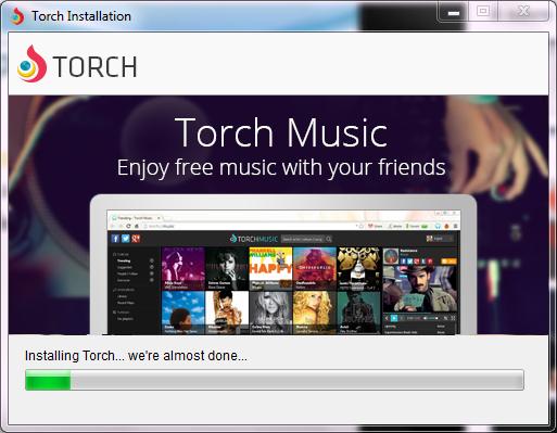 Torch Browser - صورة للبرنامج #4