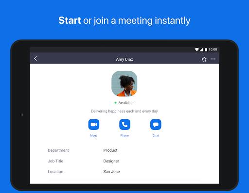 ZOOM Cloud Meetings - صورة للبرنامج #11