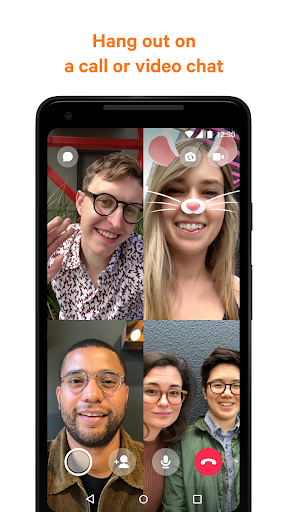 Messenger - مراسلات نصية ومكالمات فيديو بالمجان - صورة للبرنامج #1