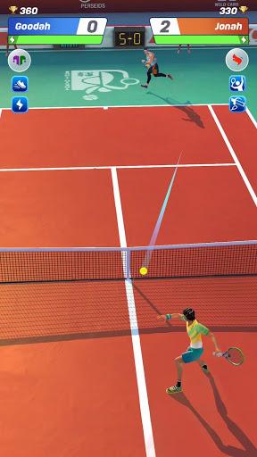 Tennis Clash: رياضات 3D - مجانية متعددة اللاعبين - صورة للبرنامج #12