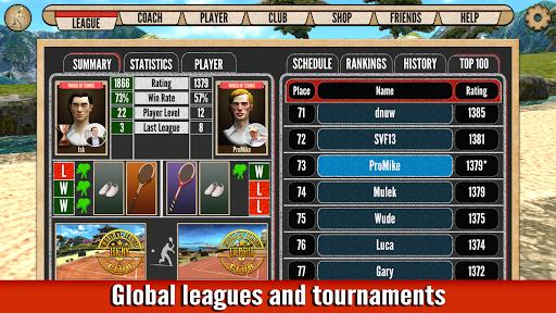 World of Tennis: Roaring '20s — online sports game - صورة للبرنامج  #5
