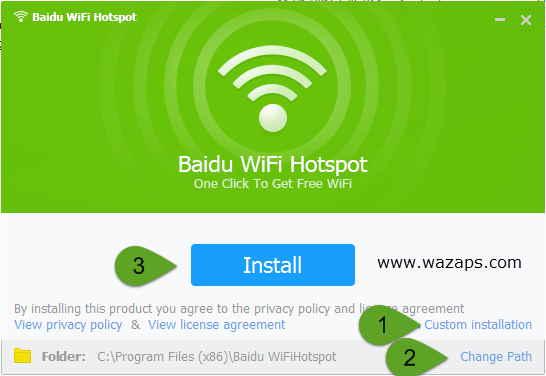 baidu-wifi-install